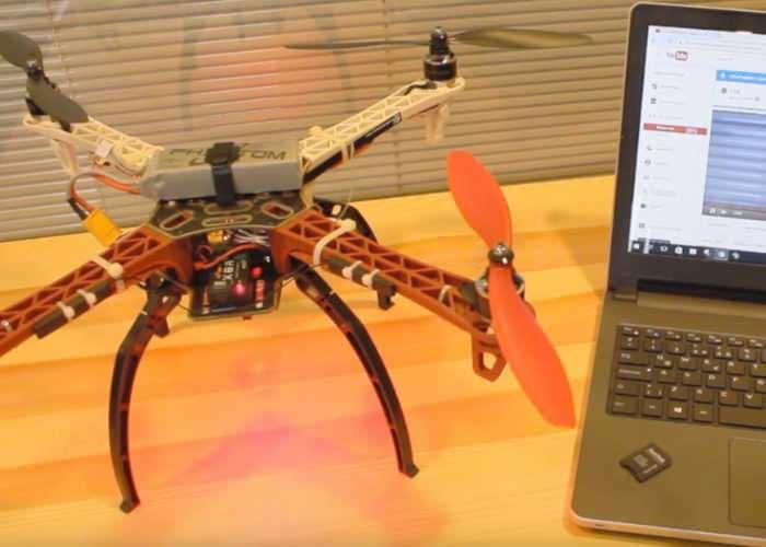 DIY Raspberry Pi Drone