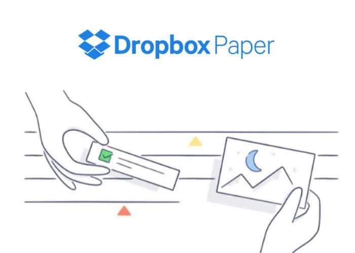Dropbox Paper App