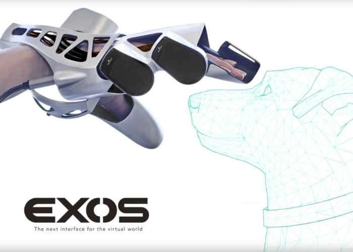 EXOS Haptic VR Exoskeleton Glove