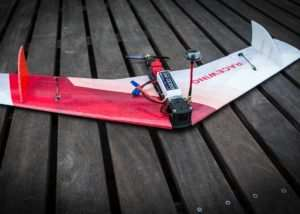 MiniRaceWing Crash Resistant FPV Race Wing (video)