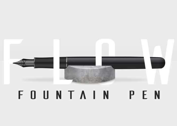 Flow Minimalistic Fountain Pen