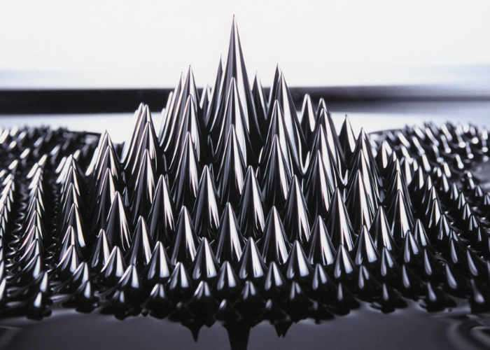 Force Fluid Ferrofluid Magnetic Desktop Display