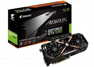 GIGABYTE GeForce GTX 1080 AORUS Xtreme Edition 8G Graphics Card