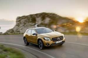 New Mercedes GLA Announced At Detroit Motor Show