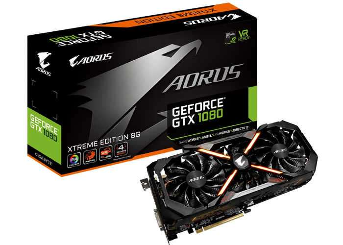 First AORUS Branded Graphics Card Unveiled, GeForce GTX 1080 AORUS Xtreme Edition