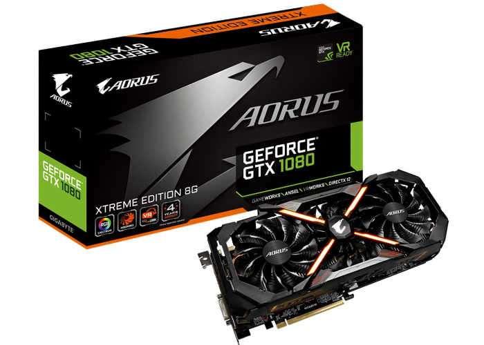 GeForce GTX 1080 AORUS Xtreme Edition