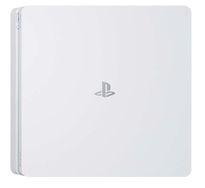 Glacier White PlayStation 4