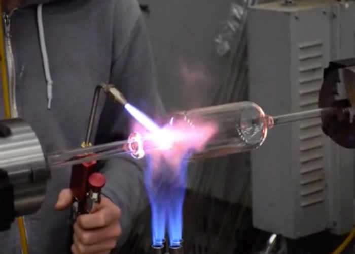 Open Source Glass Blowing Lathe