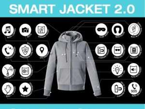 Hallam 29 Function Smart Jacket Raises Over $1,000,000 Via Kickstarter (video)