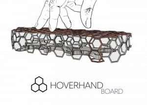 HoverHandBoard Unique Handheld Skateboard Drone Hits Kickstarter (video)
