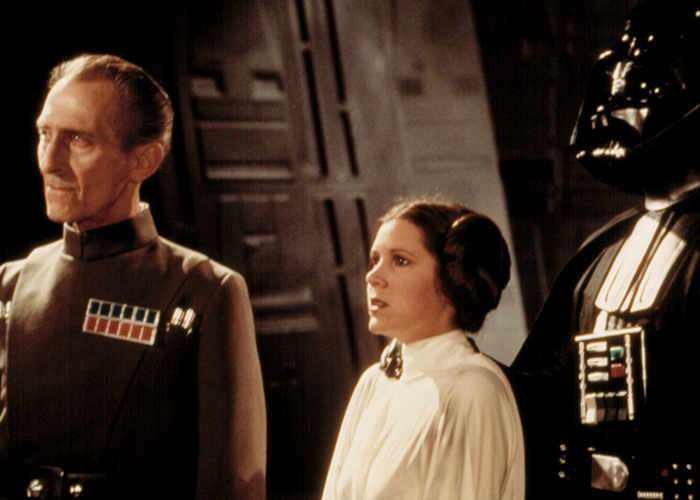 How Rogue One Princess Leia And Grand Moff Tarkin Were Created
