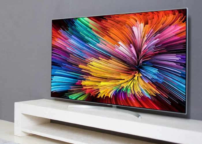 LG Ultra HD TV With Nano Cell Technology