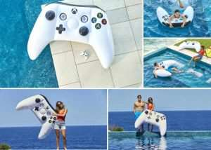 Limited Edition Inflatable Xbox Controller Is Great In The Pool