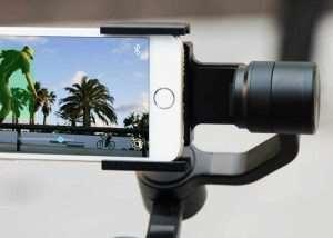 LitleCane Handheld Smartphone Stabiliser (video)