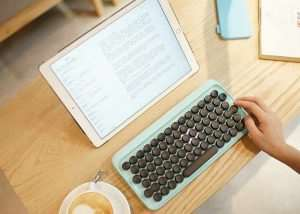 Lofree Mechanical Keyboard Inspired By Typewriters Unveiled
