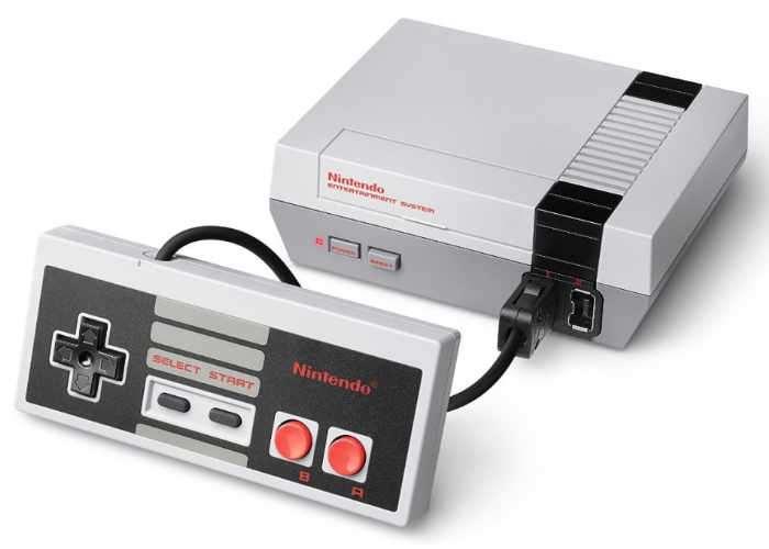 NES Mini Classic Games Console