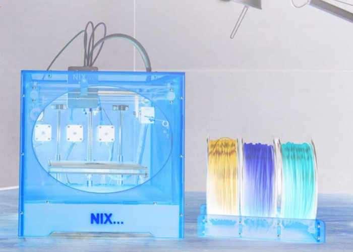 NIX High Resolution Full Colour 3D Printer