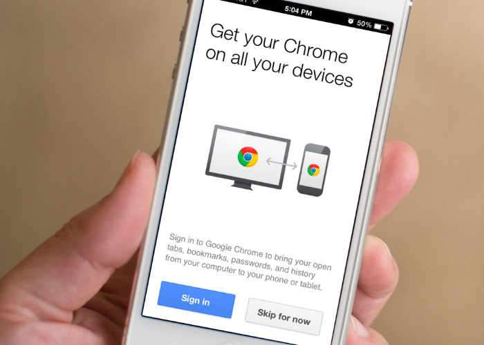 New Chrome Browser 54