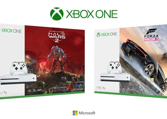New Xbox One Bundles Unveiled For Halo Wars 2 and Forza Horizon 3