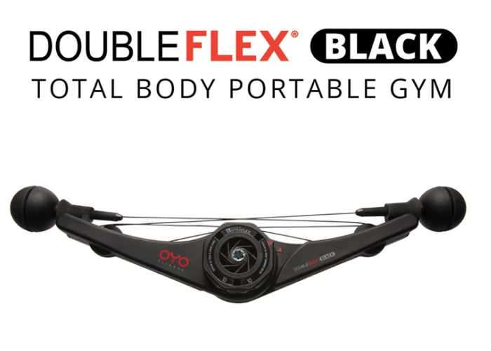 OYO Fitness DoubleFlex Black Space Age Portable Gym