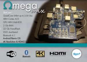 OmegaMix Multifunctional Development Board With Android Remix OS (video)