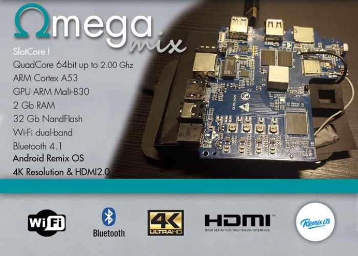 OmegaMix Multifunctional Development Board