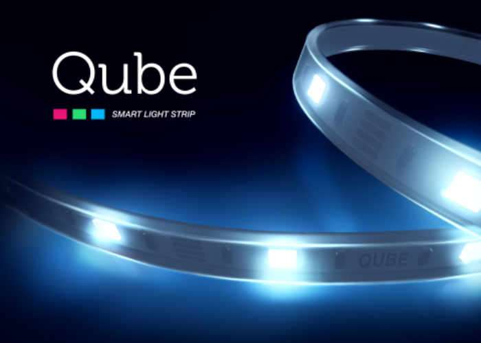 Qube Affordable Wireless Smart LED LightStrip (video)