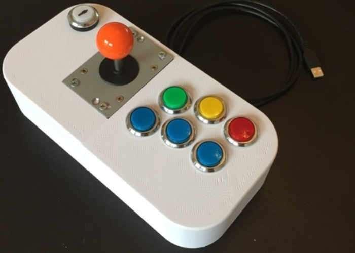 Raspberry Pi Powered Arcade Joystick