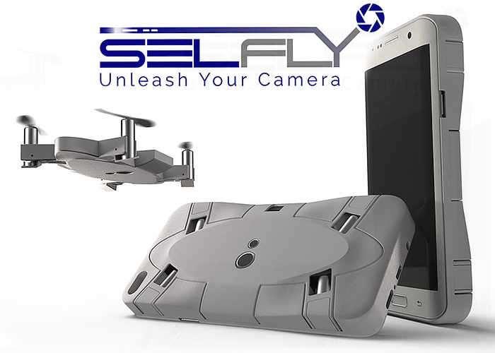 SELFLY Smartphone Case Camera Drone