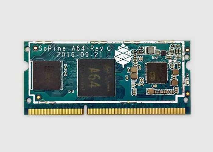 SOPINE A64 PC Card