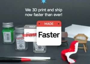 Shapeways Lead Times Reduced Even Further For Faster Delivery