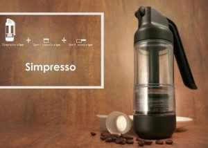 Simpresso Portable Espresso Maker Hits Kickstarter (video)