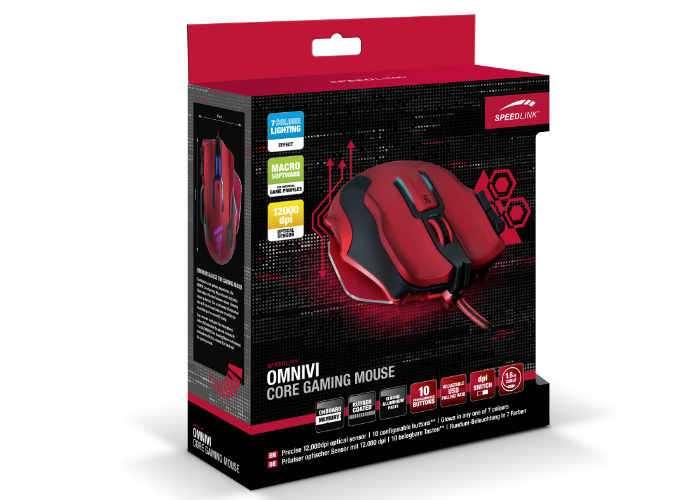 Speedlink Omnivi 10-Button Gaming Mouse