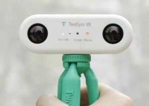 TwoEyes Virtual Reality 360 Camera Hits Kickstarter (video)