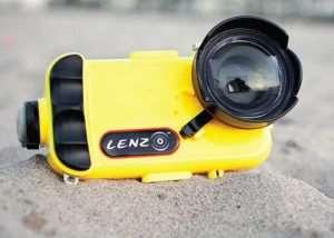 LenzO Underwater iPhone Case (video)
