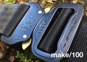 Unique Rugged Tri-Lock U-38 Belt V2 (video)