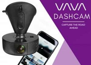 VAVA Dash Cam Hits Kickstarter (video)