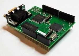 VGADuino-II 256 Colour Arduino Graphic Shield (video)