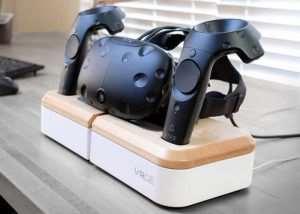 VRGE Virtual Reality Charging Dock (video)