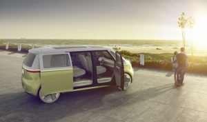 Volkswagen I.D. Buzz Concept Announced At Detroit Motor Show