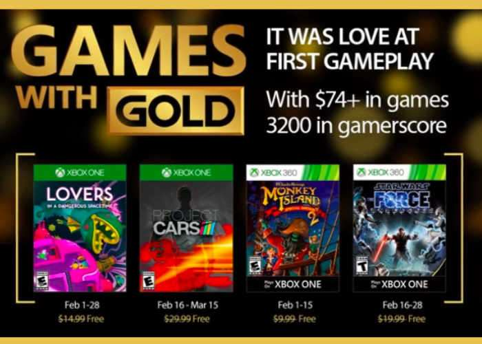 Xbox Live Gold Games February 2017
