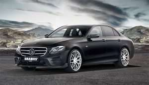 Brabus W 213 is a Muscled Up Mercedes E Class