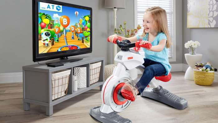 Fisher-Price wants to tackle childhood obesity with an exercise bike for kids