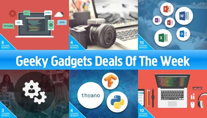 Geeky Gadgets Deals