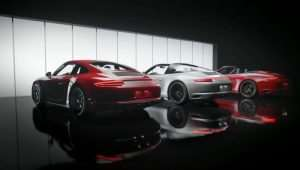 New Porsche 911 GTS Models Appear On Video
