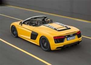 Audi R8 V10 Spyder Starts at $176,350