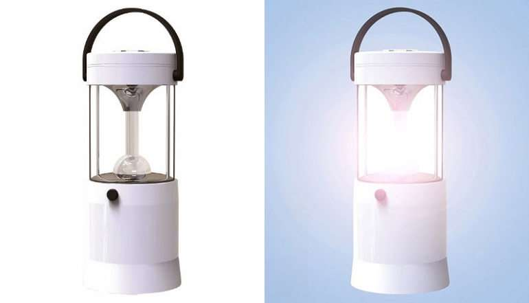 Saltwater Powered LED Lantern