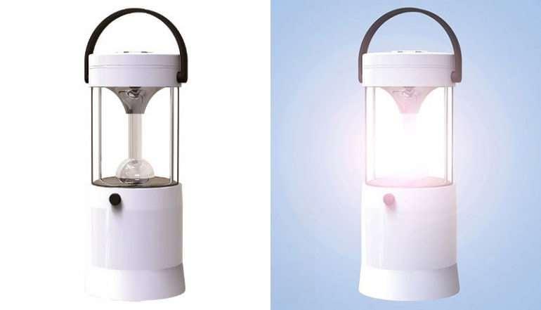 Saltwater Powered LED Lantern