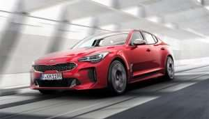 Kia Stinger GT offers up to 365hp in a Sexy Package