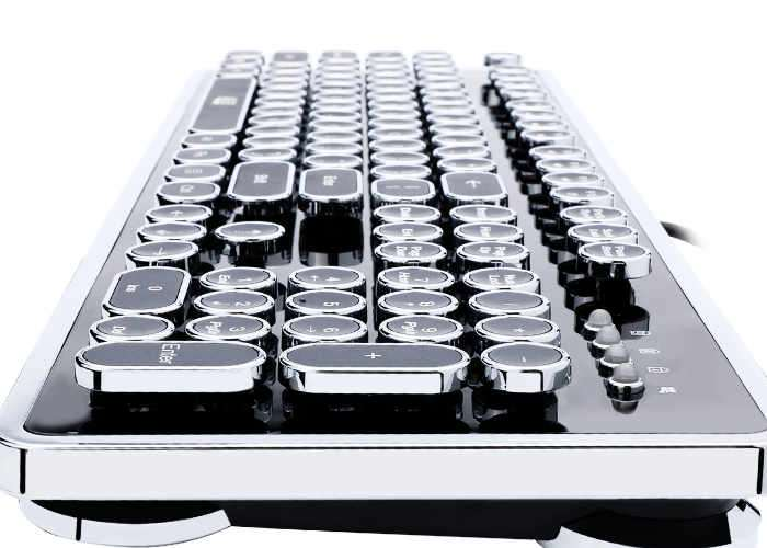 Adesso AKB-636 Mechanical Keyboard Inspired By Retro Typewriters Now Available For $100